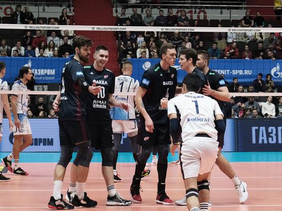 В полуфинальной игре Кубка России по волейболу встретятся «Факел» и «Енисей»