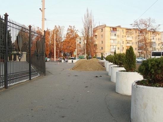 У главка МВД в Краснодаре обновят площадь и тротуар
