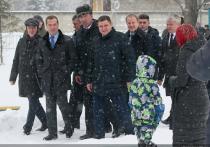 Село Санниково прогремело на всю Россию после визита председателя правительства России Медведева