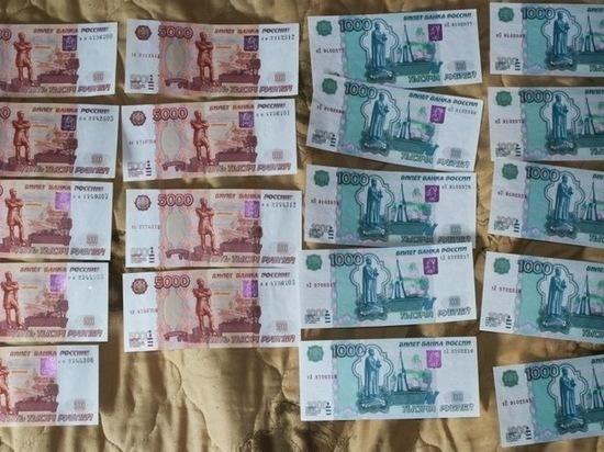 В Воронеже задержали фальшивомонетчика