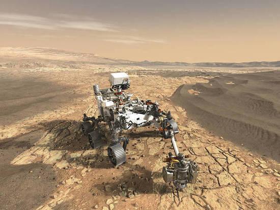 Новый ровер поищет останки древних марсиан
