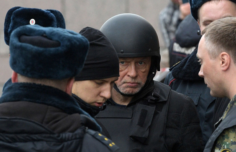Глаза расчленителя: появились кадры следственного эксперимента с Олегом Соколовым