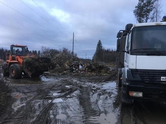 В Петрозаводске уберут стихийную свалку в районе Сулажгорского кирпичного завода