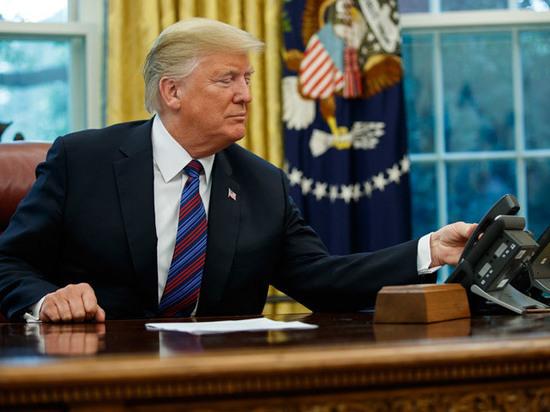 Белый дом опубликовал стенограмму первого разговора Трампа и Зеленского