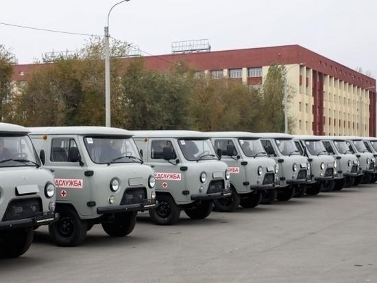 В Волгоградской области обновляется автопарк сельских больниц