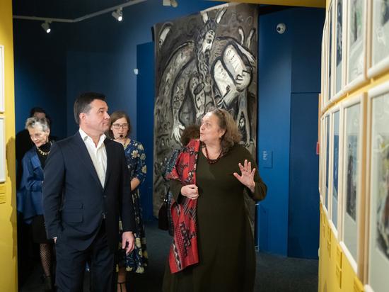 В музейно-выставочном комплексе «Новый Иерусалим» открылась выставка Марка Шагала