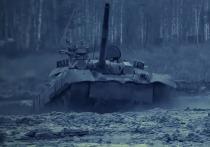 Появилось видео испытаний американцами российского танка Т-80