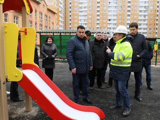 У нового детского сада в Твери будет система безопасности