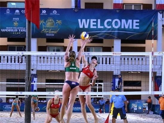 Обнинские пляжницы вылетели из мирового турнира