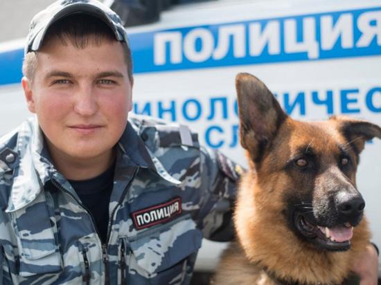 Полицейский пёс Фрай спас от смерти пенсионерку в Забайкалье