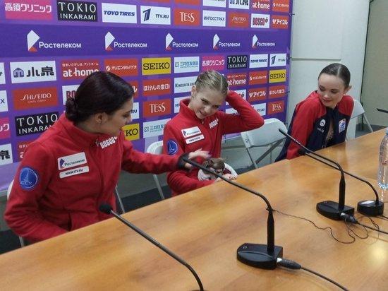 Россияне выиграли все золото этапа Гран-при, как это было: онлайн