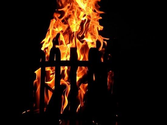 В Камешковском районе при пожаре пострадала 9-месячная девочка