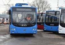В Кирове  с понедельника на улицы выпустят новые троллейбусы