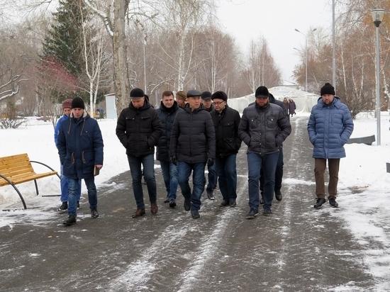 Шумков совершил объезд Кургана: