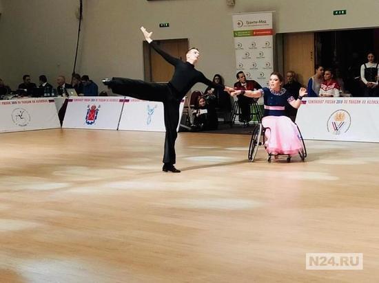 Пара из ЯНАО вошла в тройку лидеров на конкурсе по танцам на колясках