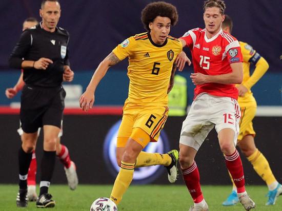 Евро-2020, квалификация: сборная России по всем статьям уступила бельгийцам