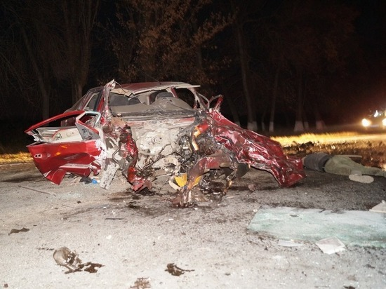 В столкновении иномарок на Кубани погибли двое