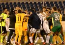 Махачкалинские футболисты подрались в гостях