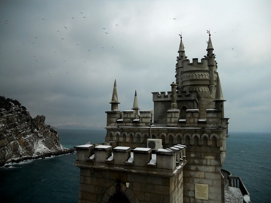 На Крым идут морозы без осадков
