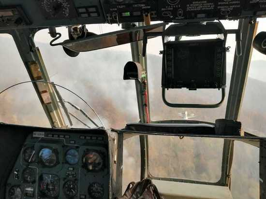 На Кубани остались два очага лесных пожаров