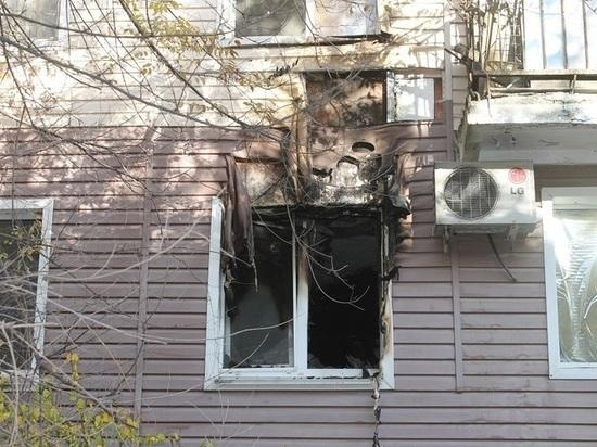 Семье погибшей при пожаре предоставлено временное жилье