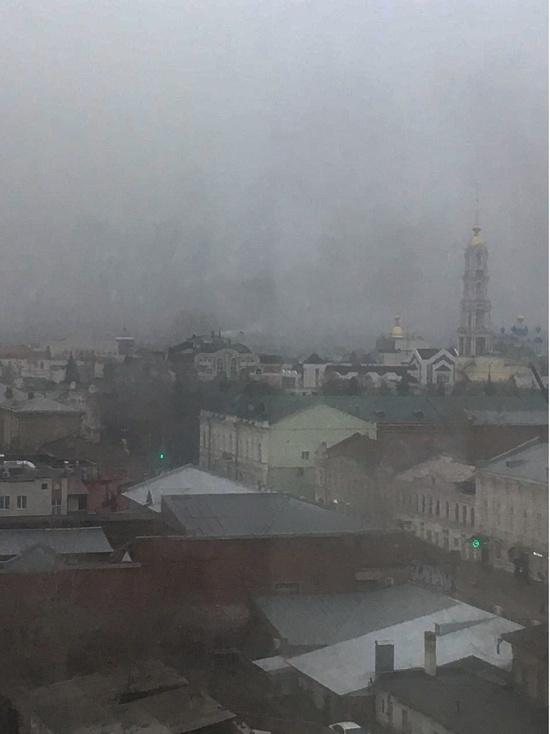 В центре Тамбова сгорел сарай