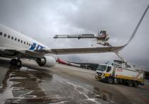 Аэропорт Читы начнет противообледенительную обработку самолетов