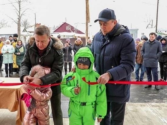 Погорельцы из села Березняки отметили новоселье