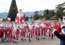В конце декабря Деды Морозы в десятый раз соберутся на парад в Ялте