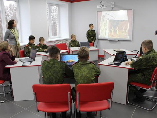 В воронежских кадетских корпусах открыли информационно-библиотечные центры