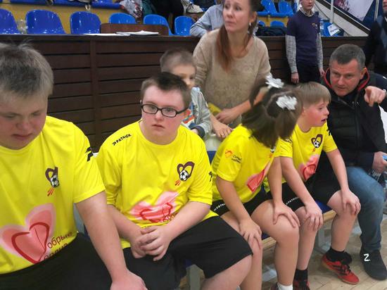 Дети с синдромом Дауна доказали, что могут играть в команде
