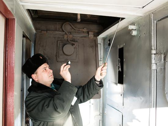 В Брянском поезде обнаружился тайник с сотней модных телефонов