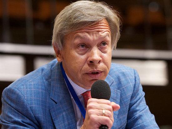 """Пушков ответил Эстонии, требующей вернуть """"аннексированные территории"""""""