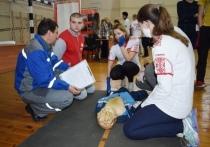 Работники Костромаэнерго вошли в число организаторов соревнования по оказанию первой помощи среди допризывной молодежи