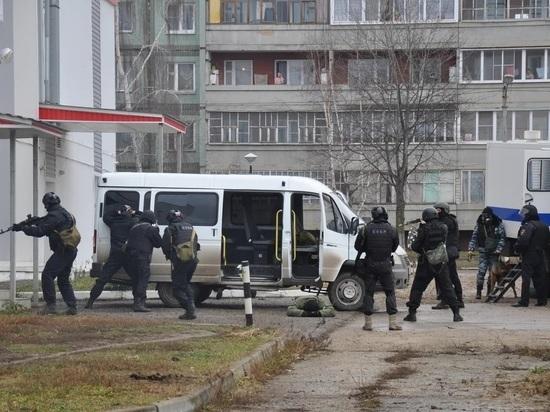 ФСБ провела учения по пресечению теракта в калужской спортшколе