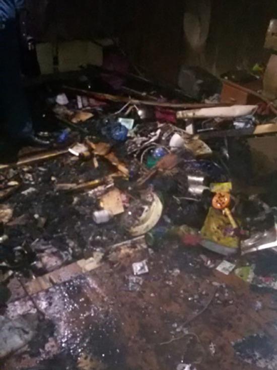 Жертвой пожара в многоэтажке стал 57-летний мужчина