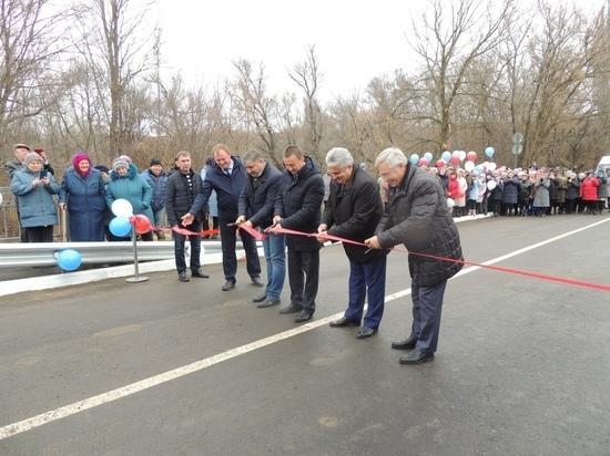 В Воронежской области новый мост связал два села
