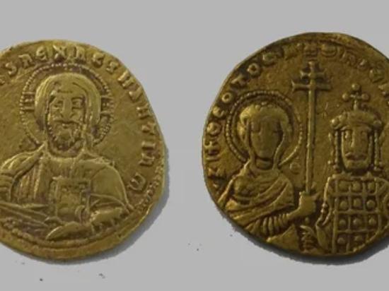 На Тамани нашли византийские монеты X века