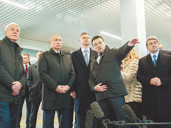 Владимир Путин стал пассажиром №1 на Московских центральных диаметрах