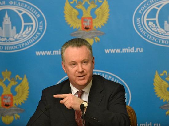 Лукашевич: Москва готова помочь Киеву выстроить отношения с ЛДНР