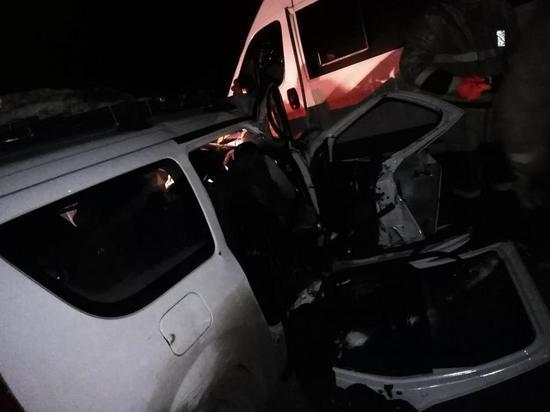 В Новосергиевском районе столкнулись «Пежо» и «Ларгус»: двое погибших