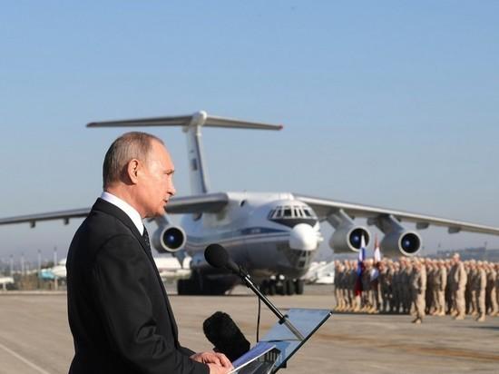 Путин: массовый исход боевиков из Сирии в Россию предотвращен