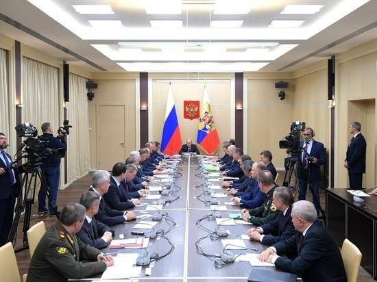 Путин объявил оборонный курс «на новых физических принципах»