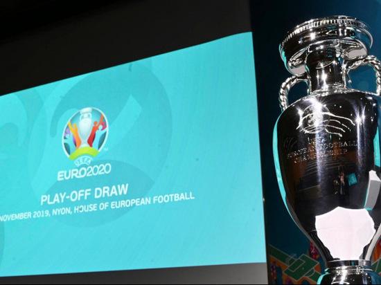 Сборная Россия сыграет на Евро-2020 два матча в Петербурге