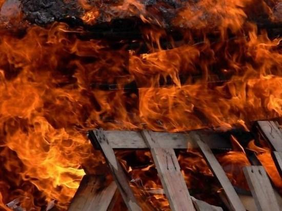 В Хакасии погибли в пожаре трехлетний мальчик и семилетняя девочка
