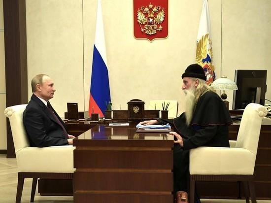 Путин обсудил с митрополитом Корнилием возвращение старообрядцев