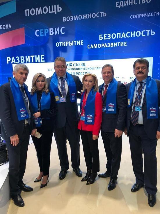 Служение людям считает главным посылом съезда ЕдРо вице-спикер Госдумы РФ