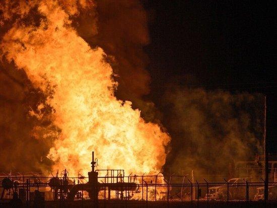 В Кабардино-Балкарии тысячи человек остались без газа из-за пожара на газопроводе