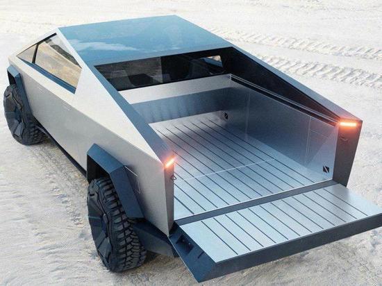 Tesla представила внедорожник «из будущего» Cybertruck