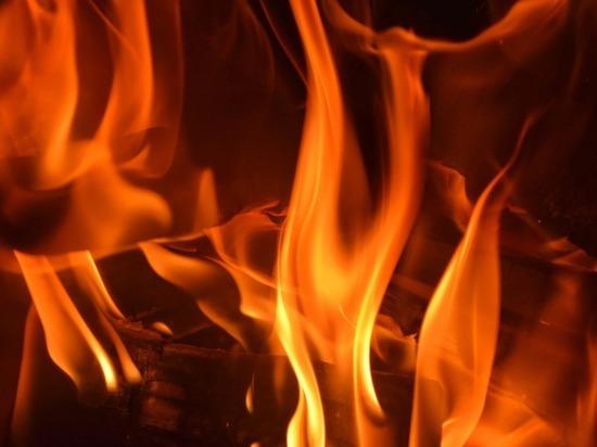 В Гусь-Хрустальном районе полностью сгорел частный дом